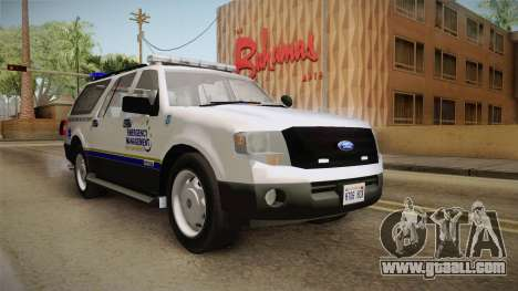 Ford Expedition 2013 FCEM for GTA San Andreas right view