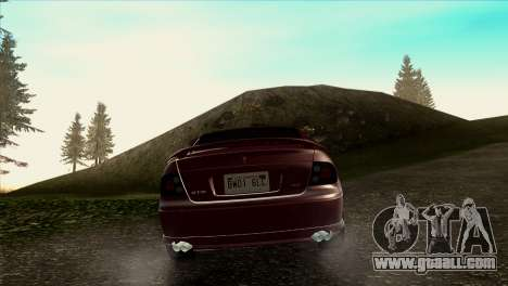 2005 Pontiac GTO IVF v 1.1 [Tunable] for GTA San Andreas back view