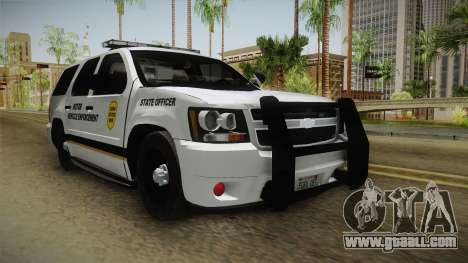 Chevrolet Tahoe 2015 Iowa State MVE for GTA San Andreas