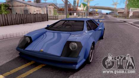 Infernus From Vice City for GTA San Andreas