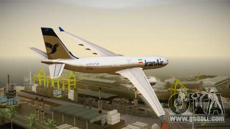 Airbus A330-200 IranAir for GTA San Andreas