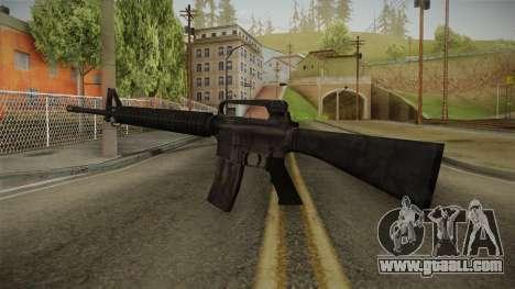 M16A2 Assault Rifle for GTA San Andreas second screenshot