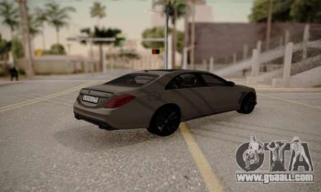 Mercedes-Benz Brabus 900 for GTA San Andreas left view