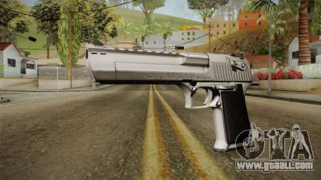 Desert Eagle Silver Chrome for GTA San Andreas second screenshot
