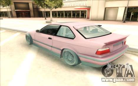 BMW E36 for GTA San Andreas left view