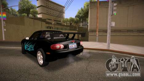 Mazda MX-5 Miata for GTA San Andreas engine