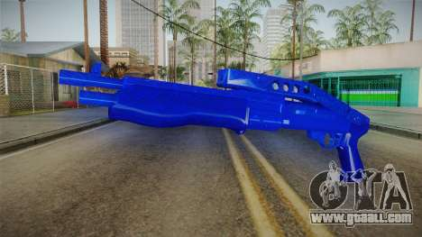 Dark Blue Weapon 3 for GTA San Andreas