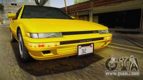 GTA 4 Dinka Hakumai SA Style for GTA San Andreas side view