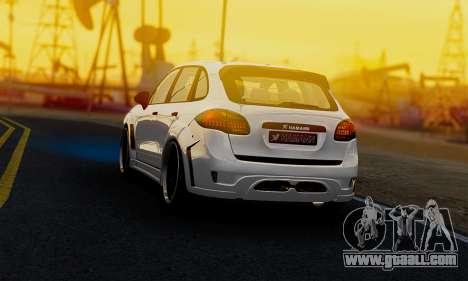 Porsche Cayenne Hamann Guardian Evo for GTA San Andreas left view