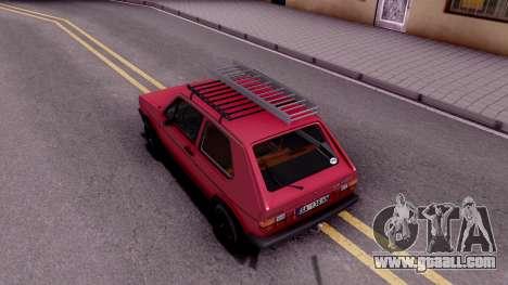 Volkswagen Golf Mk1 Yugoslav for GTA San Andreas