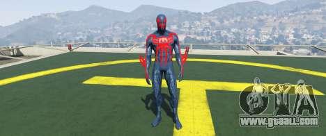 GTA 5 Spiderman 2099