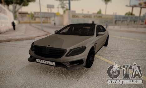 Mercedes-Benz Brabus 900 for GTA San Andreas