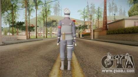 NUNS4 - Kakashi The Last Sharigan for GTA San Andreas third screenshot