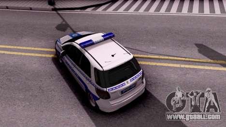 Suzuki SX4 Policija for GTA San Andreas back view