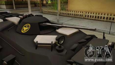 Hungary Police TEK APC for GTA San Andreas back view
