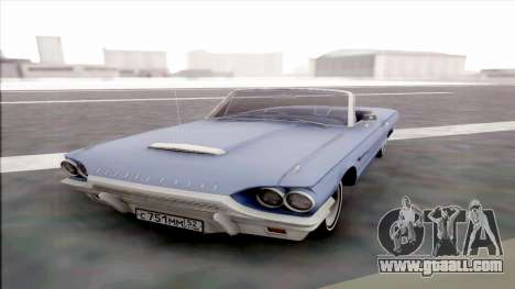 Ford Thunderbird for GTA San Andreas back view
