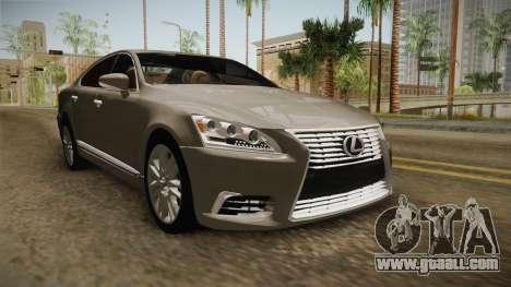 Lexus LS 460 Interior for GTA San Andreas right view