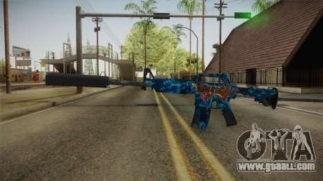 CS:GO - M4A1-S Masterpiece for GTA San Andreas