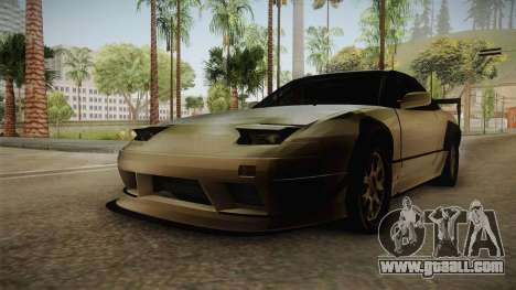 Nissan 240SX Lowpoly for GTA San Andreas