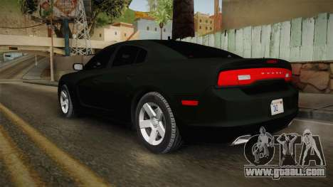 Dodge Charger 2013 Unmarked Iowa State Patrol for GTA San Andreas left view