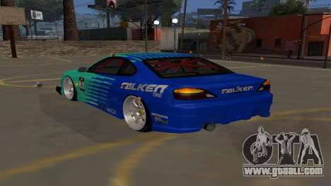 Nissan Silvia S15 Drift Style for GTA San Andreas left view