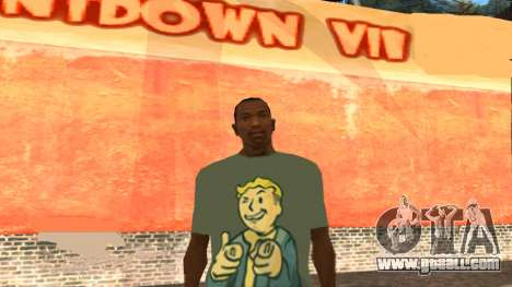 T-Shirt Fallout for GTA San Andreas