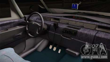 Renault Espace 1999 2.0 16v for GTA San Andreas inner view