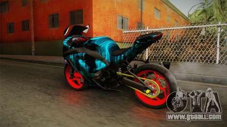 Kawasaki Ninja 250 FI Smoke Tech for GTA San Andreas left view