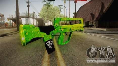 Green Weapon 2 for GTA San Andreas second screenshot