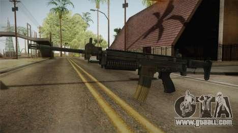 ULTIMAX 100 Assault Rifle for GTA San Andreas second screenshot
