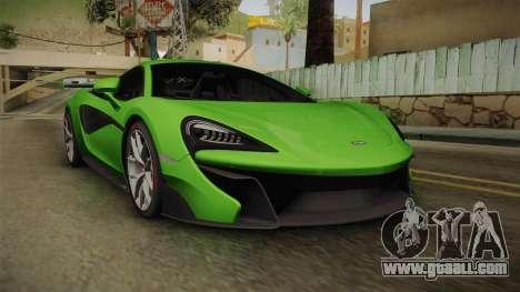 McLaren Vorsteiner 570-VX for GTA San Andreas