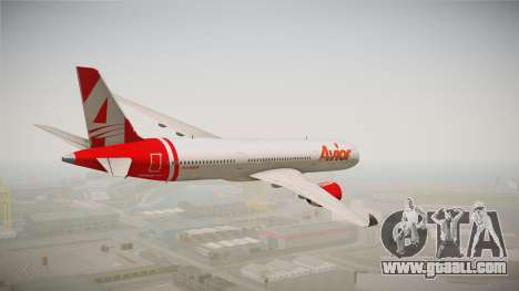 Airbus A350 Avior Airlines (Fictional) for GTA San Andreas left view