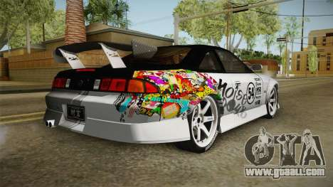 Nissan 200SX (S14) for GTA San Andreas left view