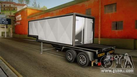 Volvo FH16 660 8x4 Convoy Heavy Weight Trailer 1 for GTA San Andreas left view