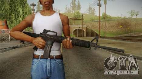 M16A2 Assault Rifle for GTA San Andreas third screenshot
