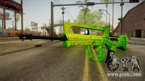 Green Weapon 2 for GTA San Andreas
