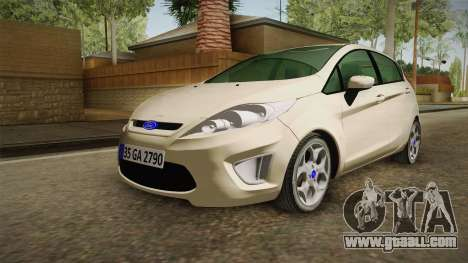 Ford Fiesta for GTA San Andreas back left view