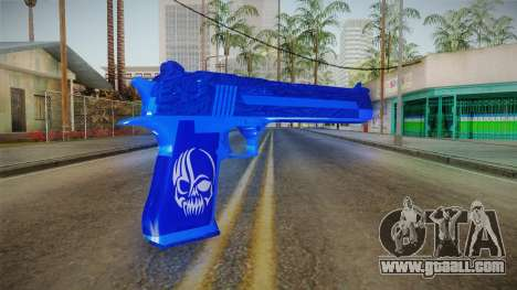 Dark Blue Weapon 1 for GTA San Andreas second screenshot
