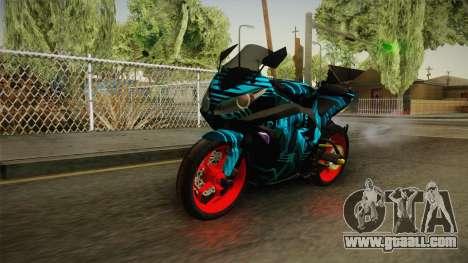 Kawasaki Ninja 250 FI Smoke Tech for GTA San Andreas