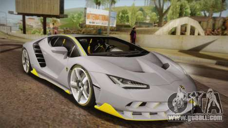 Lamborghini Centenario LP770-4 for GTA San Andreas