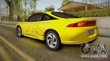 Mitsubishi Eclipse GSX 1995 IVF for GTA San Andreas interior