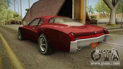Driver: PL - Cerva for GTA San Andreas back left view