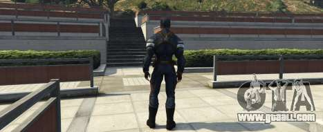 GTA 5 Captain America The Winter Soldier second screenshot