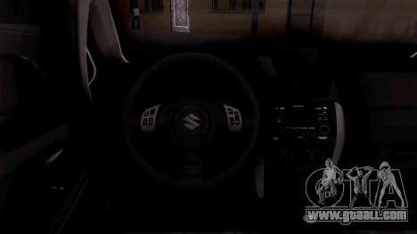 Suzuki SX4 Policija for GTA San Andreas inner view