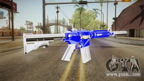 Blue Weapon 2 for GTA San Andreas second screenshot