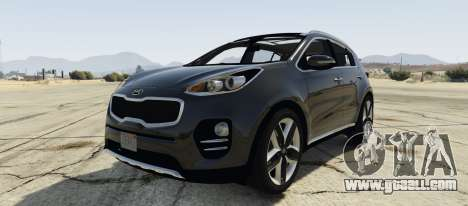 Kia Sportage 2017 2.5 for GTA 5