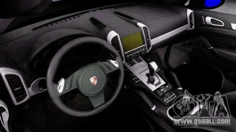 Porsche Cayenne Hamann Guardian Evo for GTA San Andreas back view