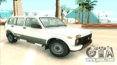 Lada Niva Urban for GTA San Andreas