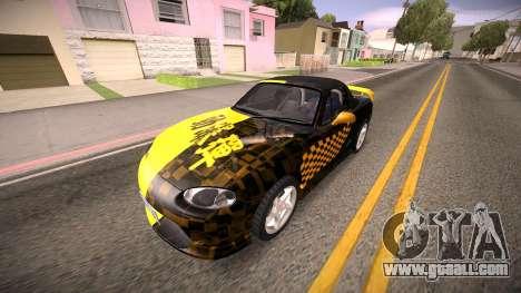 Mazda MX-5 Miata for GTA San Andreas