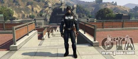 GTA 5 Captain America The Winter Soldier